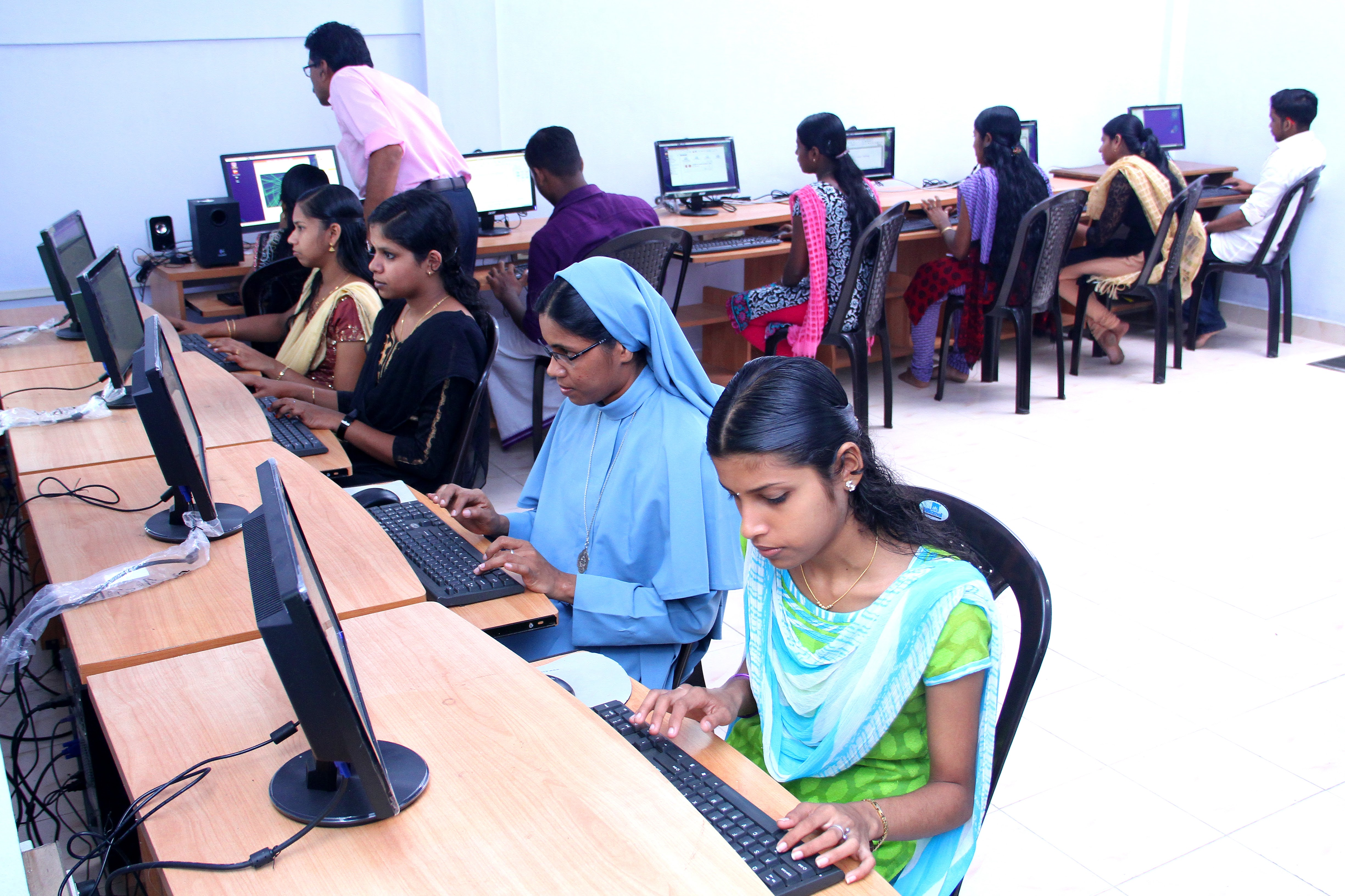 So We Are Conducting Computer Classes For School Students From Financially Poor Background As Well College To Upgrade Their Knowledge In